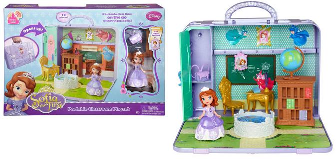 Sofie královská třída - přenosná herní sada Mattel