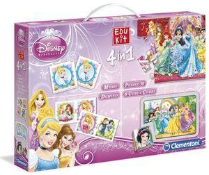 Clementoni Soubor her 4v1: Disney Princezny