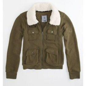 Dámská mikina kabátek VOLCOM Sherpa Bomber