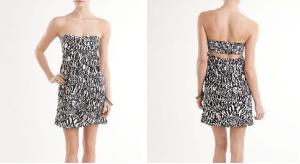 Dámské šaty FOX Indulge Tube