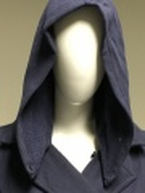 Dámský kabát ROXY Hooded Fleece Peacoat