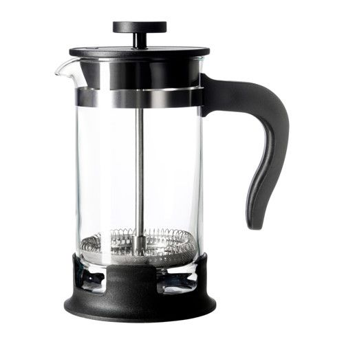 UPPHETTA Konvice na čaj / kávu 0,4L French press IKEA