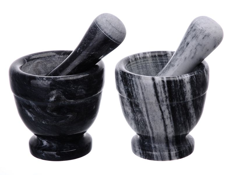 Tradiční mramorový hmoždíř 10 cm s paličkou Smart Cook
