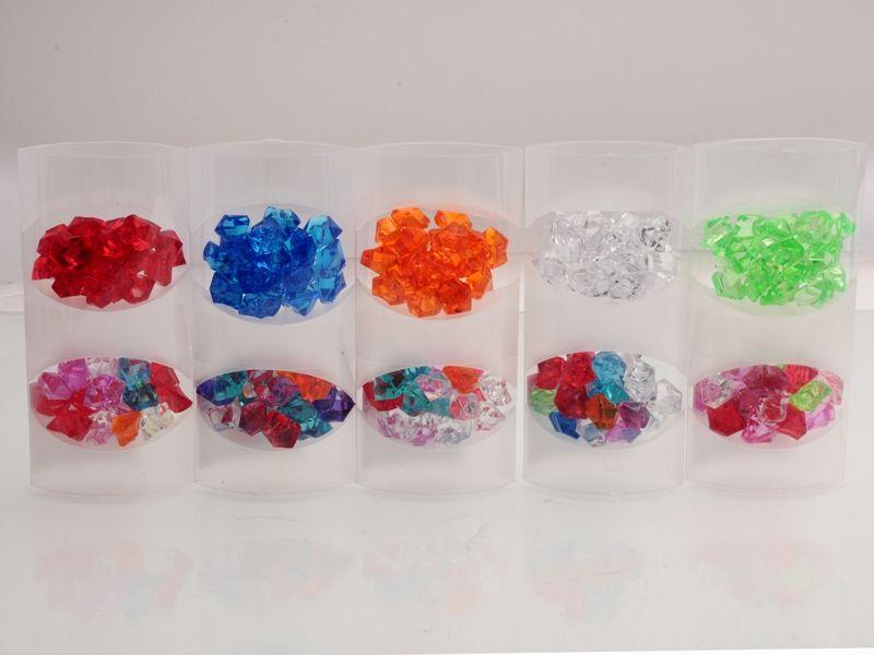 Dekorativní kamínky plastové 120 g Unihouse