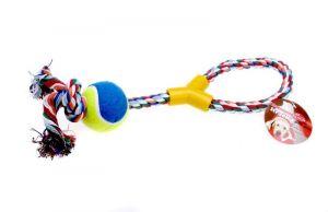 Bavlněný uzel s balónkem 40cm