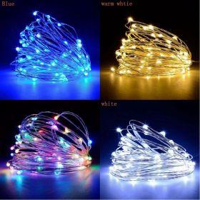 Vánoční osvětlení 100 LED nano řetěz 10m na baterie