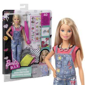 Barbie D.I.Y. Emoji Style, Mattel DYN93