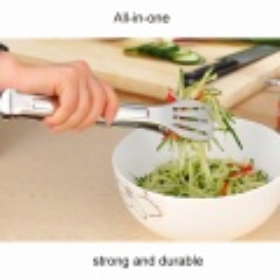 Kleště nerezové na salát 23,5 cm
