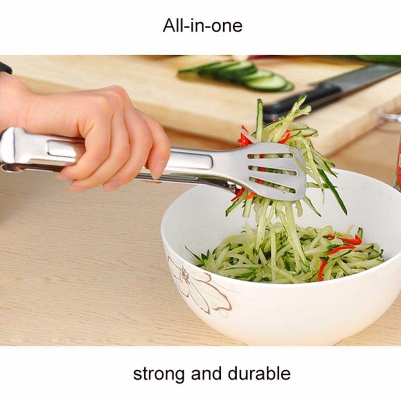 Kleště nerezové na salát 23,5 cm Smart Cook