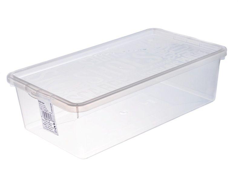 Úložný box na boty s víkem 34 x 19 x 10 cm Unhouse