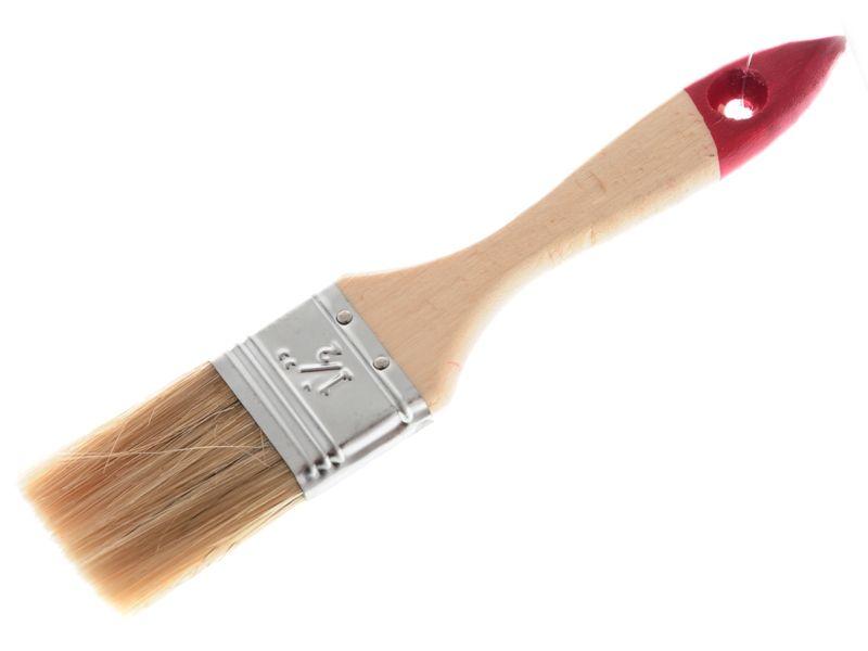 Štětec na malování dřevěný 3,8x18,5cm Unihouse