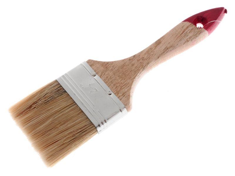 Štětec na malování dřevěný 6,3x20cm Unihouse
