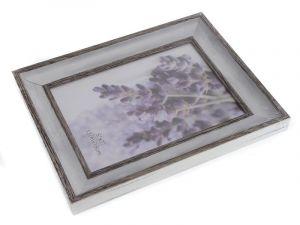 Fotorámeček lemovaný světlý 13 x 18 cm