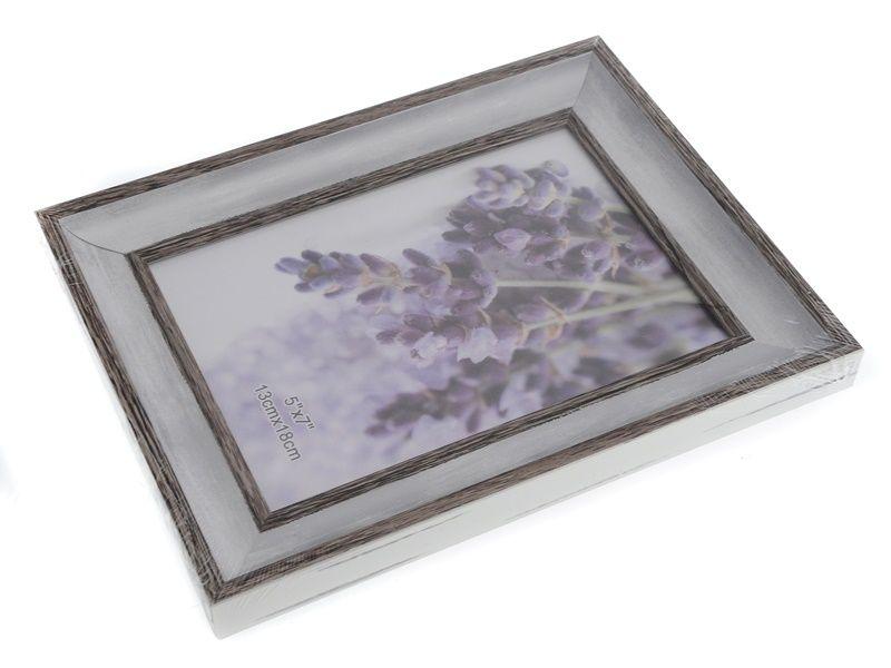 Fotorámeček lemovaný světlý 13 x 18 cm Unhouse