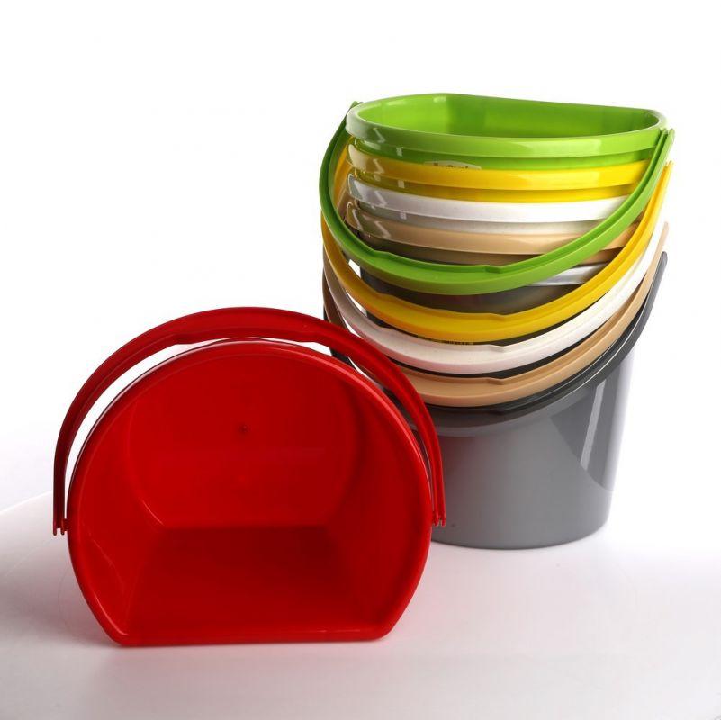 Plastový kbelík půlkruhového tvaru 11 L Unihouse