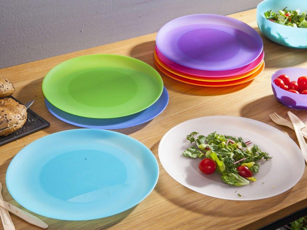 Plastový mělký talíř 26x 1,5cm Smart Cook