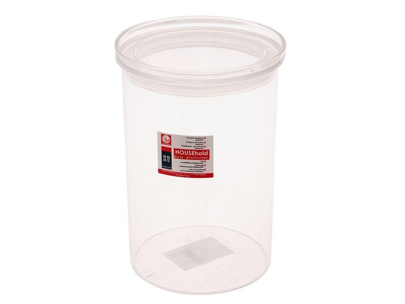 Dóza na sypké poraviny z transparentního plastu 2,6 l Smart Cook