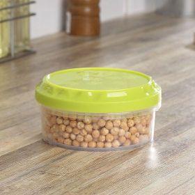 Kulatá dóza na potraviny se závitem 0,375L Smart Cook