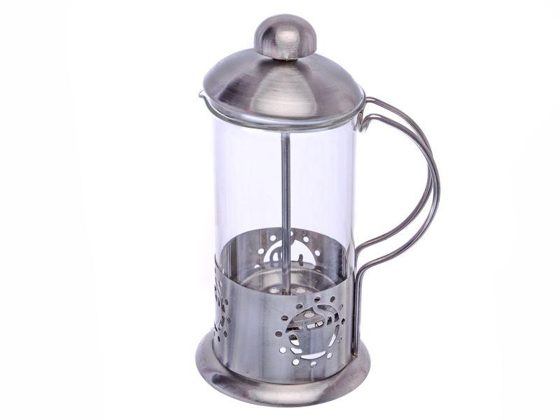 Konvice na kávu nebo čaj se sítkem 350 ml pro tzv. French press Smart Cook
