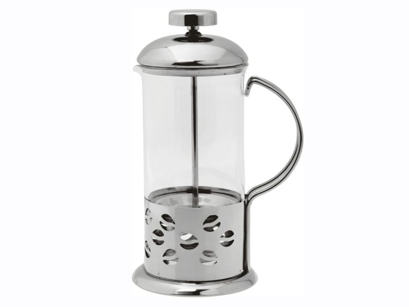 Konvice na kávu nebo čaj se sítkem 600ml French press Smart Cook