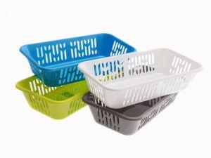 plastový košík na pečivo 8 x 35 x 20 cm
