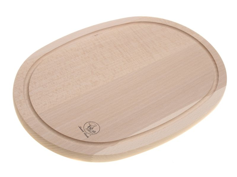 buková krájecí deska ovál 20 x 30 cm Smart Cook
