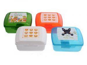 Svačinový box pro děti s potiskem - 0,85l Smart Cook