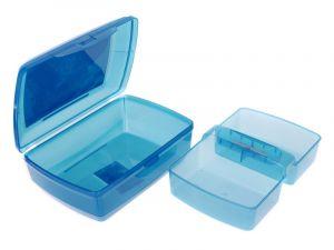 Svačinový box pro děti s potiskem - 1,3l + vložka Branq