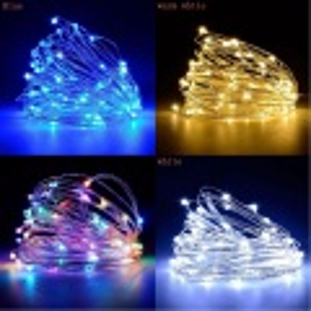 Vánoční osvětlení 100LED nano řetěz 10m na baterie