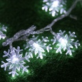 Vánoční osvětlení 36 LED sněhová vločka