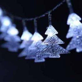 Vánoční osvětlení stromeček 36 LED Studená bílá