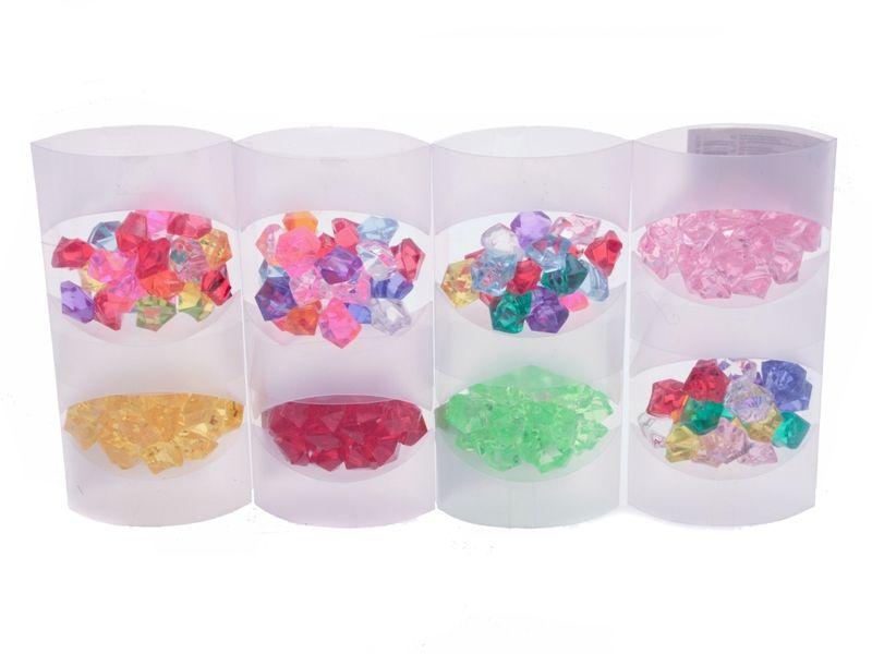 Dekorační kamínky mix barev 120 g Unihouse