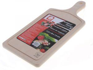 Prkénko krájecí bukové s rukojetí 38 x 17 cm Smart Cook