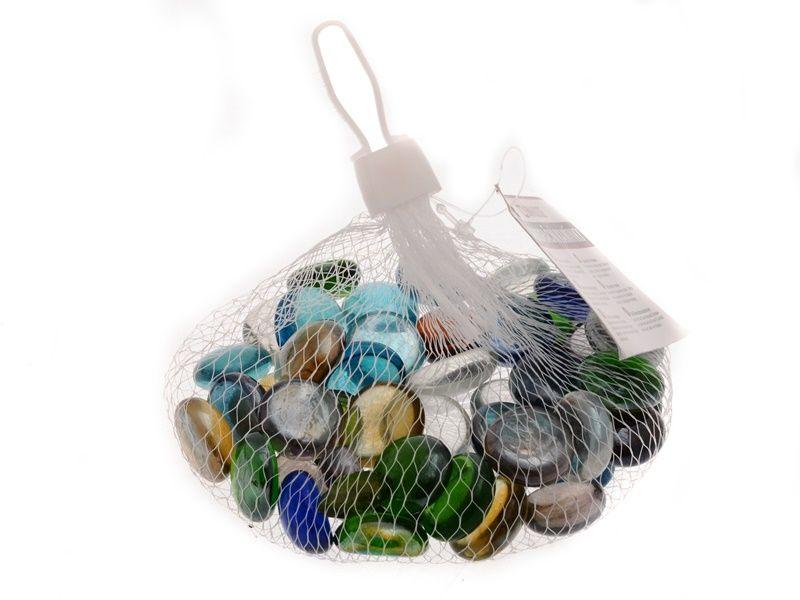 Dekorační skleněné kamínky 200 g Unihouse
