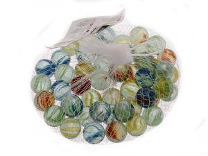 Dekorační skleněné kamínky 50 ks