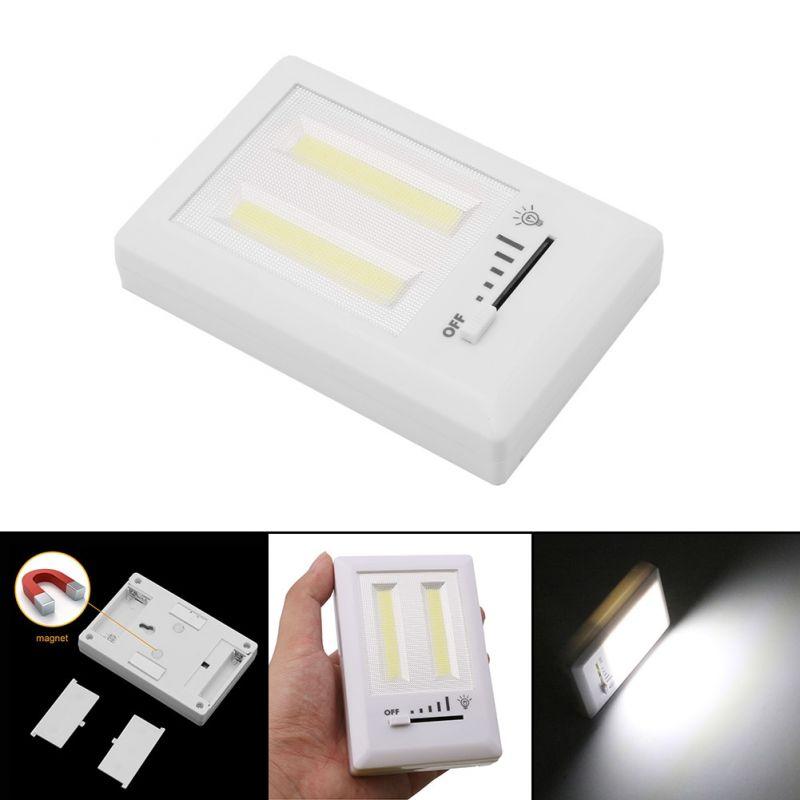 COB světlo s vypínačem na baterie Unihouse