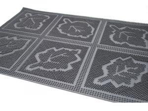 Rohožka Gumová 40 x 60 cm Listy Unihouse
