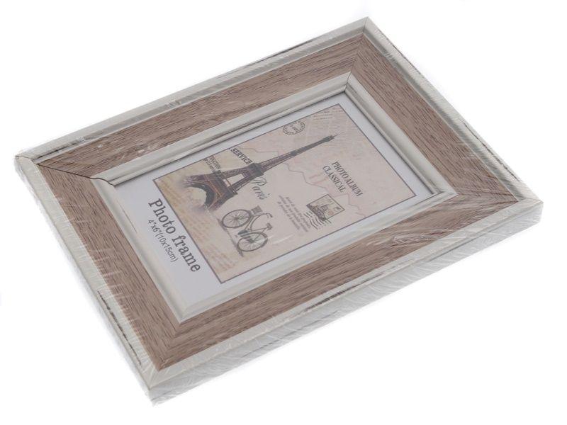 fotorámeček s bílým lemem 13 x 18 cm Unihouse
