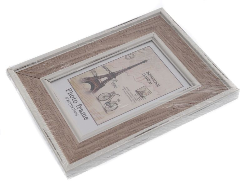 fotorámeček s bílým lemem 10 x 15 cm Unihouse