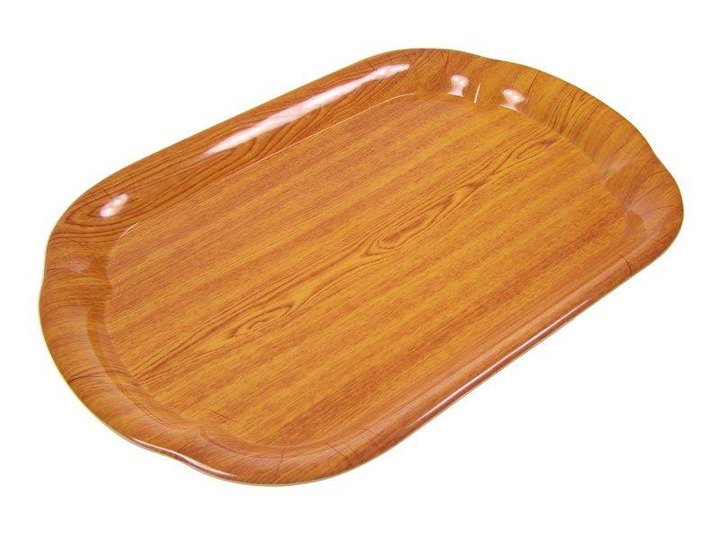Tác plastový, imitace dřeva 27 x 40 cm Smart Cook