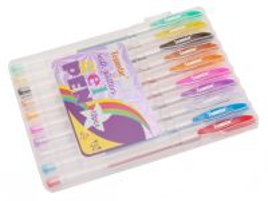 Gelové pero se třpytkami 10 ks