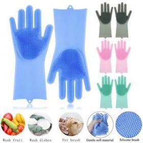 Víceúčelové silikonové rukavice 33 cm