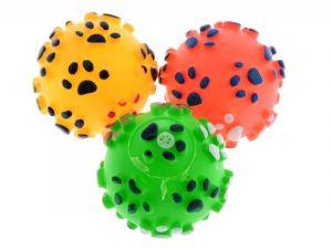 gumový míček pro psa 7 cm