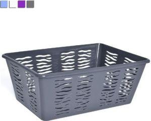 Plastový košík zebra 36x25x15cm