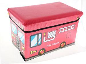 Skládací taburet - úložný box a sedačka pro děti Unhouse