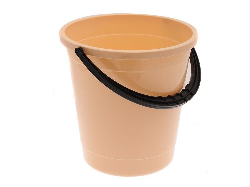 Kbelík plastový s černou rukojetí 8 L Unihouse