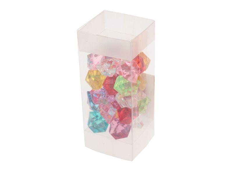 Dekorativní kamínky plastové 100g Unhouse
