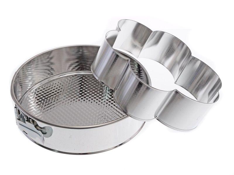 Forma pocínovaná DORT/KVĚTINA 24cm Smart Cook