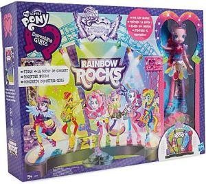 My Little Pony Equestria Girls Jeviště hrací set Hasbro