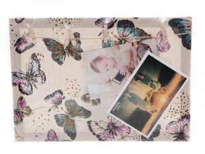 Otevřený fotorámeček s kolíčky na 2 fotky